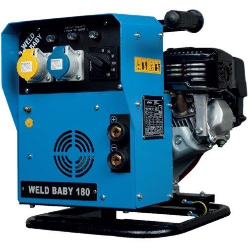 Genset WeldBaby 180 Petrol Welder Generator