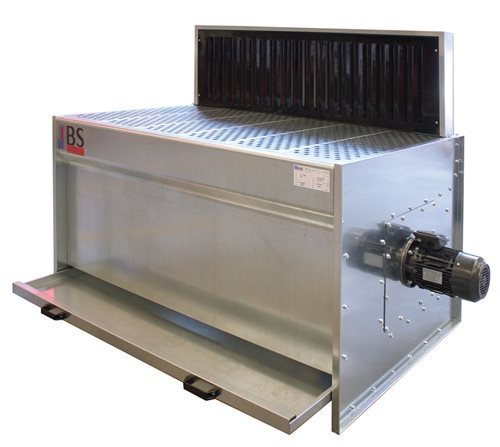 MBS Downdraft Bench 2500mm x 900mm with Built-in Fan