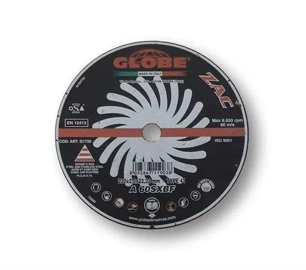 Globe Extra-Long Life Inox Slitting Disc