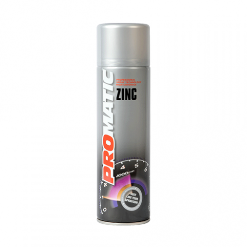 Promatic Zinc Rich Primer - 500ml Aerosol Can