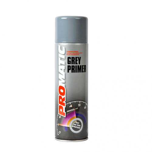 Promatic Grey Primer - 500ml Aerosol Can
