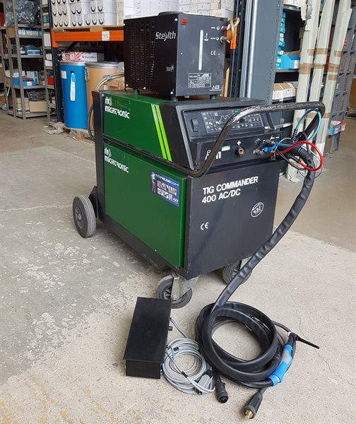 Migatronic 400 ACDC TIG Commander Water Cooled Second Hand TIG welder