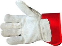 Heavy Duty Chrome Leather Palm Rigger Gloves 2