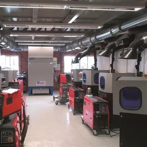 Welding Fume Extraction Systems for Colleges, Universities & Training Centres
