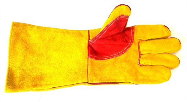 Welding Gloves with Reinforced Palm