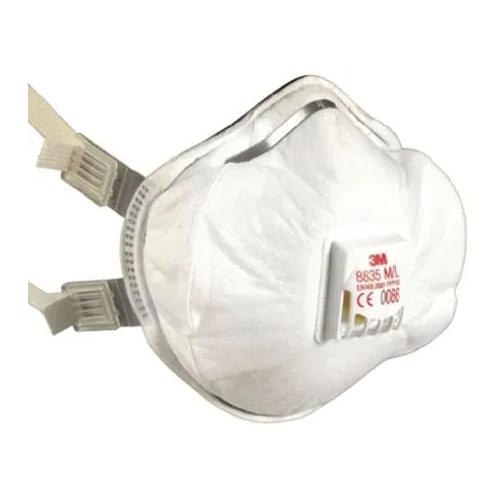 8835 Buckle Strap Valved Face Mask FFP3