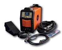 Max-Arc 200 AC DC TIG Welder Complete Package with Welding Foot Pedal and Trolley