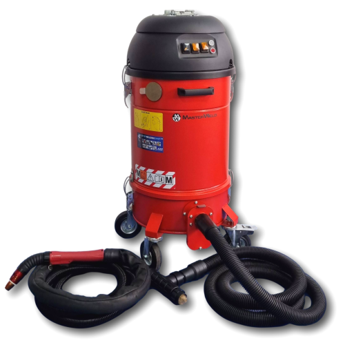 MW9100 110V Twin Motor with FumeX FX-450 Hybrid 3.05 Mtr Water-Cooled On-Torch Fume Extraction Package
