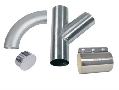 High Vacuum Pipework and Accessories for On-Torch Welding Fume Extraction