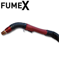 MW9100 110V Twin Motor with FumeX FX-450 Hybrid 4.57 Mtr Water-Cooled On-Torch Fume Extraction Package