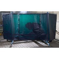 3 Panel Extra Heavy Duty Portable Welding Screen