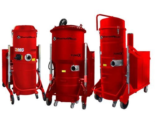 MasterWeld MWF Centralized On-Torch Welding Fume Extraction Systems