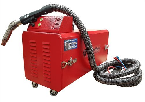 MasterWeld MW8002 Portable Welding Fume Extractor with Max Arc MA501 Welding Fume MIG Torch