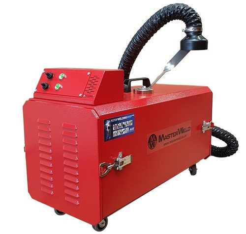 MasterWeld MW8002 110V Welding Fume Extractor cw Hose and Magnetic Support