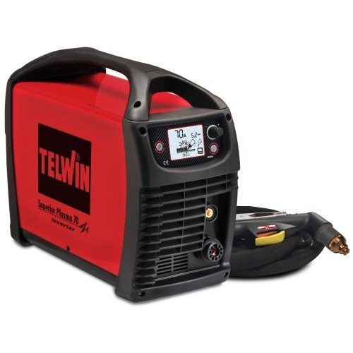 Telwin Superior 70 400V 3ph Plasma Cutter Package