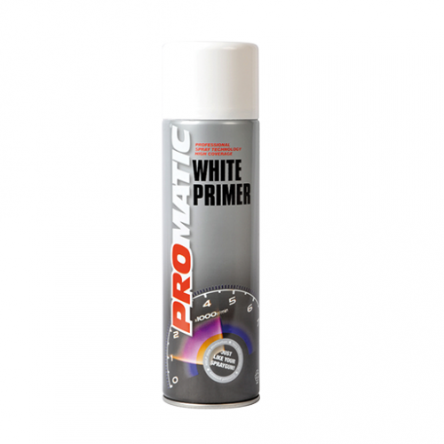 Promatic White Primer - 500ml Aerosol Can