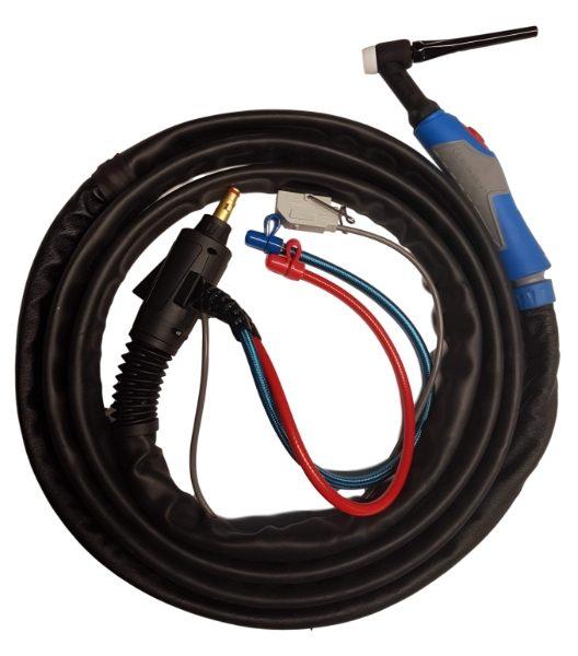Max-Arc MA18 Progrip TIG Torch c/w Fronius Connection, 5 Pin Tuchel