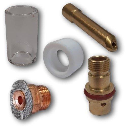 WP17/18/26 Gas Saver Consumable Kit 2.4mm Short