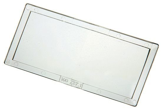 """Magnifying Lens 51 x 107mm (41/4"""" x 2"""") 2.5 Diopter"""