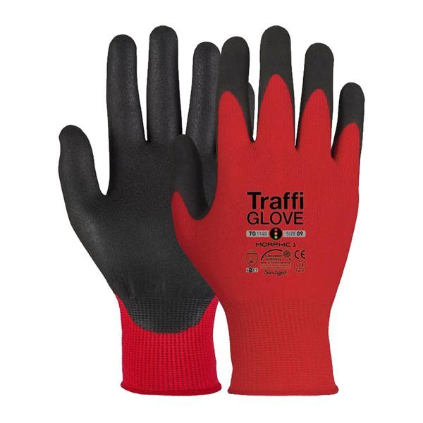 TraffiGlove TG1140-09 MicroDex Safety Gloves