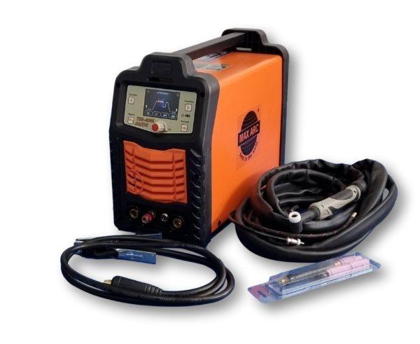 Max-Arc TIG-200L AC/DC Digital TIG Welder Package 230V