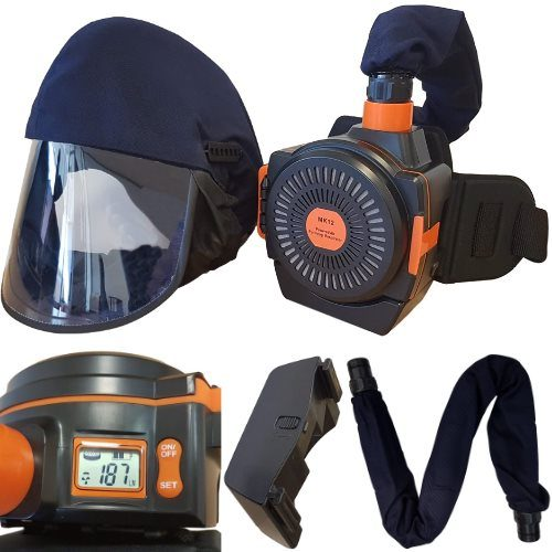 Air Fed Grinding Mask