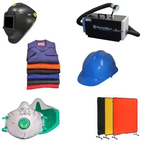 Safety and Fume Extraction, Welding Helmets, Welding Fume Extraction, Welding Curtains & Screens