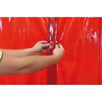 Welding curtain snap fastener system