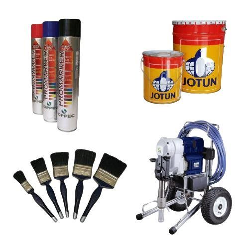 Coatings and Spray Equipment, Industrial Paints, Paint Spraying Equipment