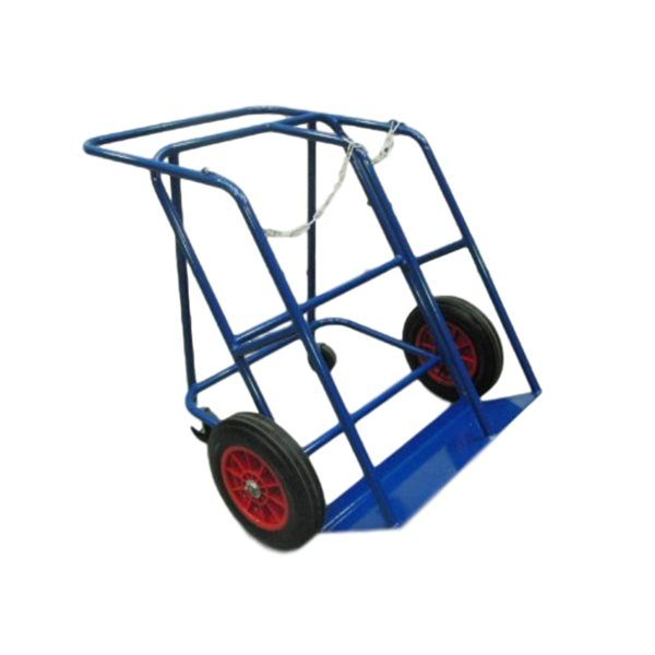 Heavy Duty oxy propane cylinder trolley with 4 wheels