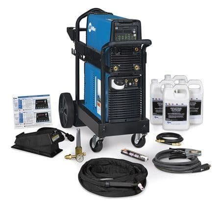 Miller Dynasty 280 Water-Cooled TIG Package c/w Foot Control