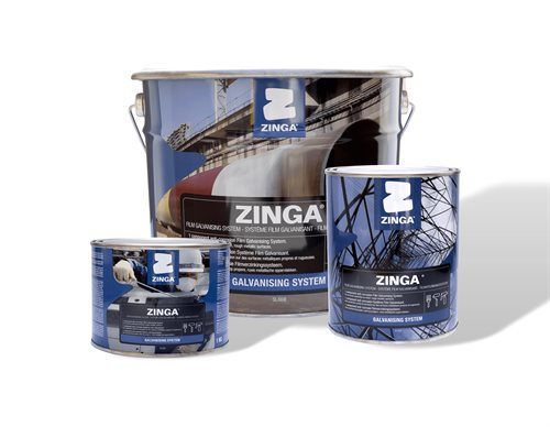 Zinga One-Component Zinc Coating Matt Grey 1kg