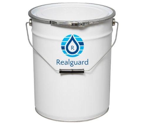 Realguard Primer-Topcoat 20 Ltr Black Semi-Gloss