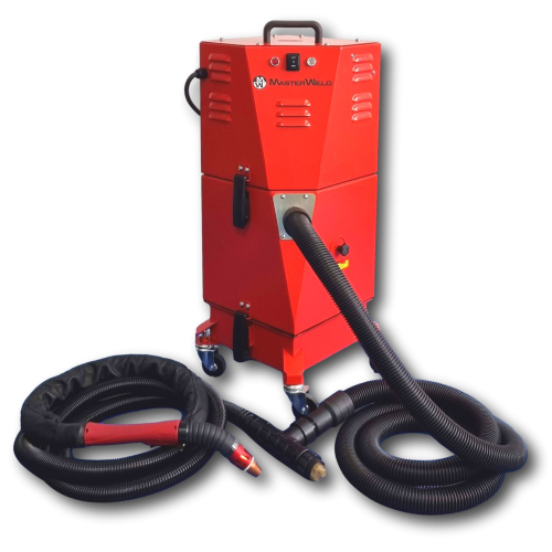 MW9000 240V with FumeX FX-300 4.57 Metre On-Torch Fume Extraction Package