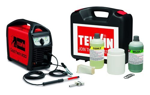 Telwin Cleantech 200 Stainless Steel Welder Cleaner Package
