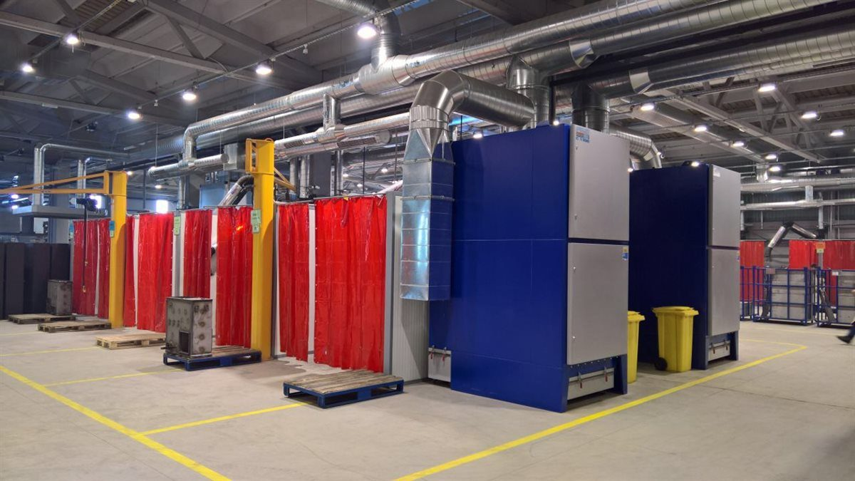 Fume Extraction Systems Welding