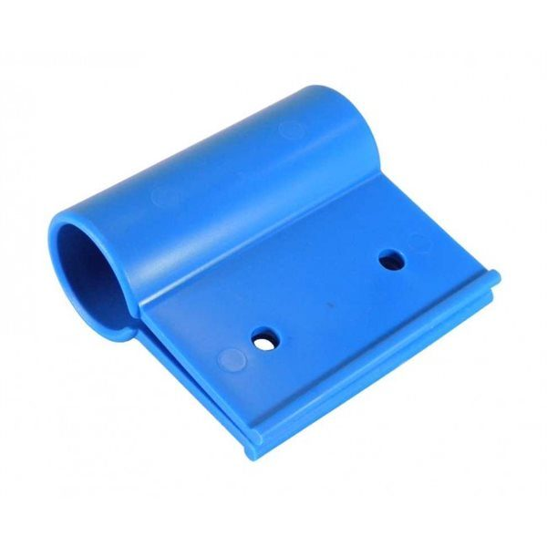 100mm Plastic Blue Pendular Clip for1 inch Pipe inc. Fixings