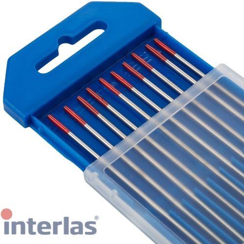 1.2mm Genuine Interlas Red Tip Tungsten Electrodes for TIG Welding