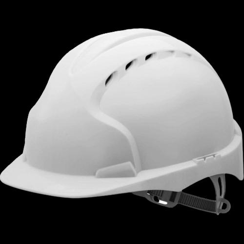 Vented Safety Helmet with Slip Rachet