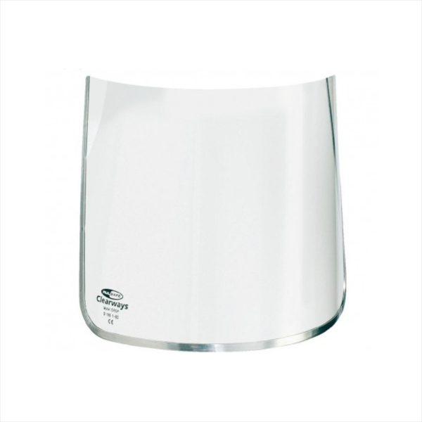 Clear Polycarbonate Visor 200mm CV83P