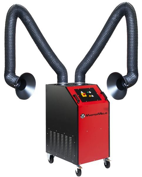 Welding Fume Extractor with 2 x Flexible Self-Supporting Arms