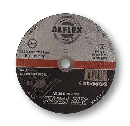 Alflex Metal Slitting Disc Inox