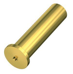 Brass non threaded cd welding stud