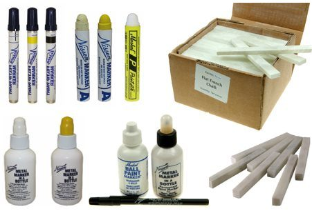 AES range of metal marking products
