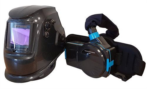 Max-Arc MK8000 Metallic Air Fed Welding Mask with Grinding Facility