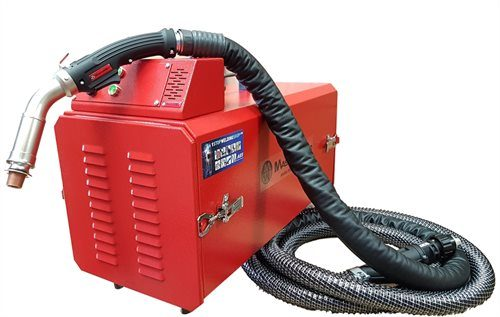 MW8002 Portable Welding Fume Extraction Packages with MasterWeld Fume Torches