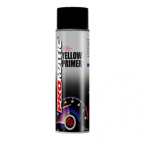 Promatic Yellow Primer - 500ml Aerosol Can