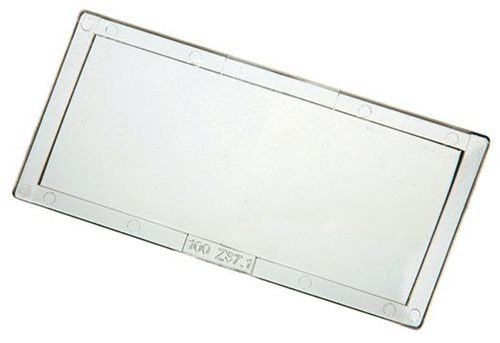 """Magnifying Lens 51 x 107mm (41/4"""" x 2"""") 2.0 Diopter"""