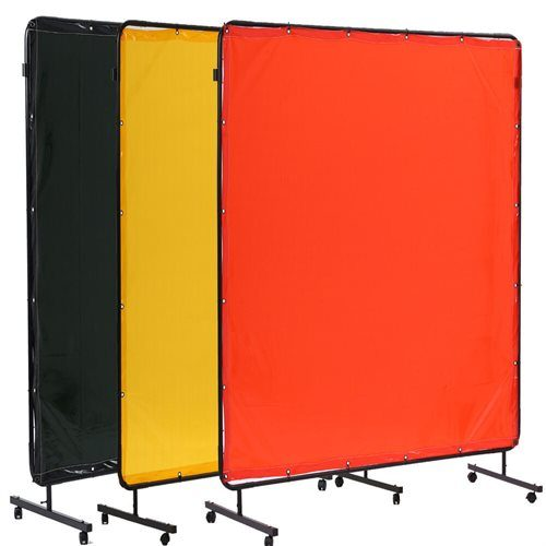 Portable welding screens and curtains