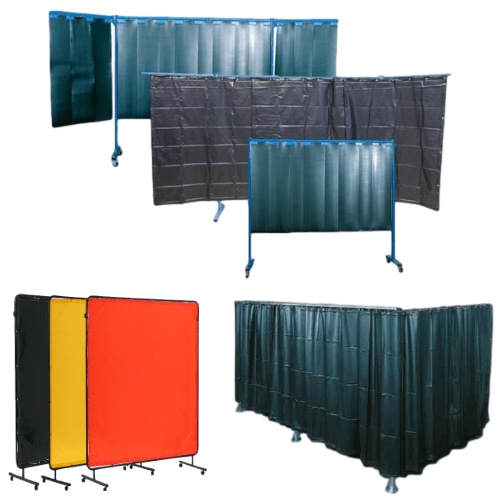 Welding Curtains, Welding Screens